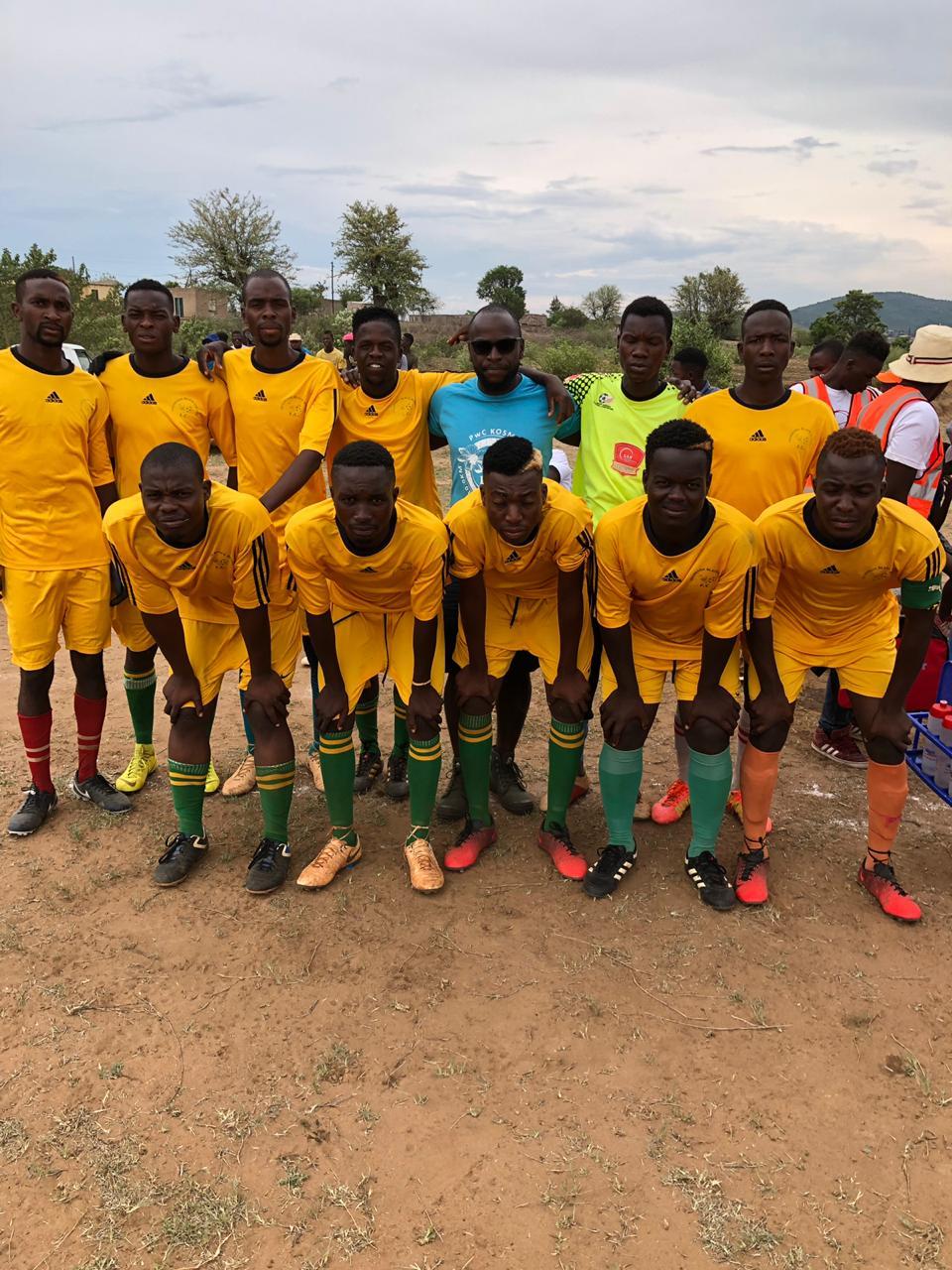 THE Benny Mayengani Shawela Top 16 Soccer tournament